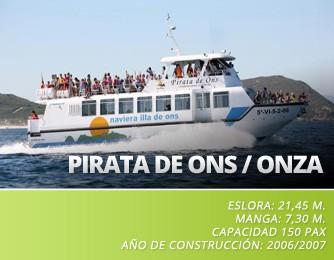 Pirata de Ons / Onza