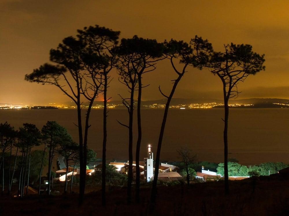 Isla de Ons de noche