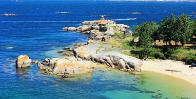 Illa de Arousa, vacaciones en Galicia, Rias Baixas