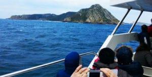 Ruta Xacobea en la isla de Sálvora