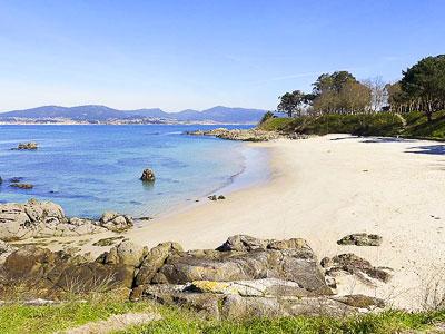 Mejores playas de Galicia: Playa Do Vao, Coruxo (Vigo)