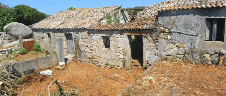 La antigua aldea de Sálvora
