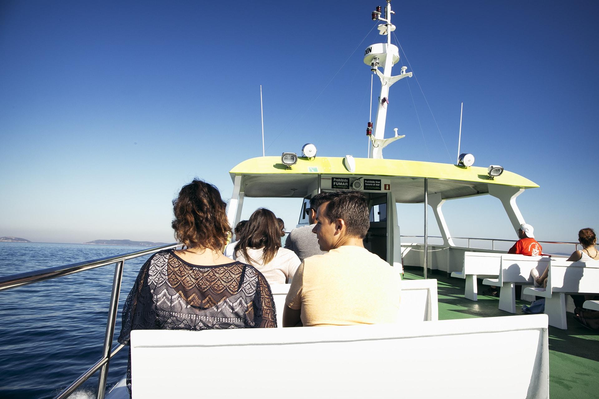 barco a cíes