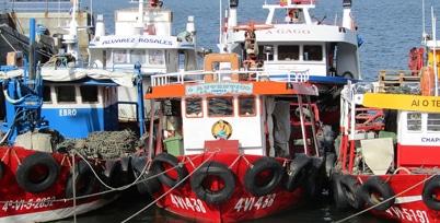 Turismo: Bateas de las Rías Baixas, Vigo (Galicia)