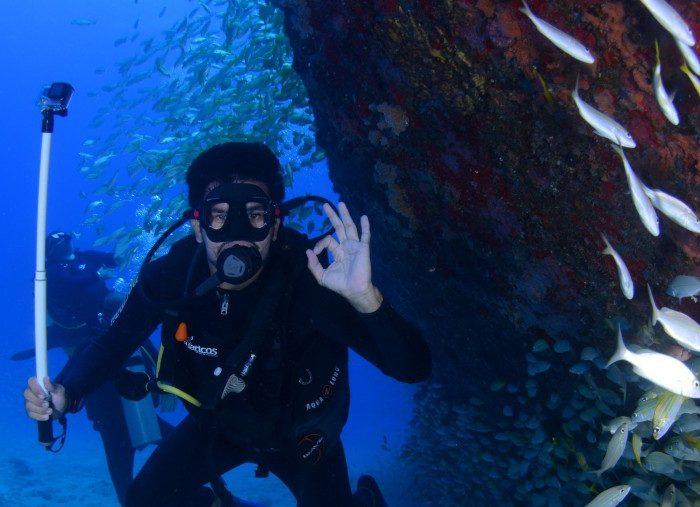 Ven de buceo a las islas Cíes