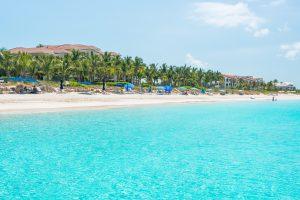 Playa Grace Bay, Providenciales, Islas Turcas y Caicos.