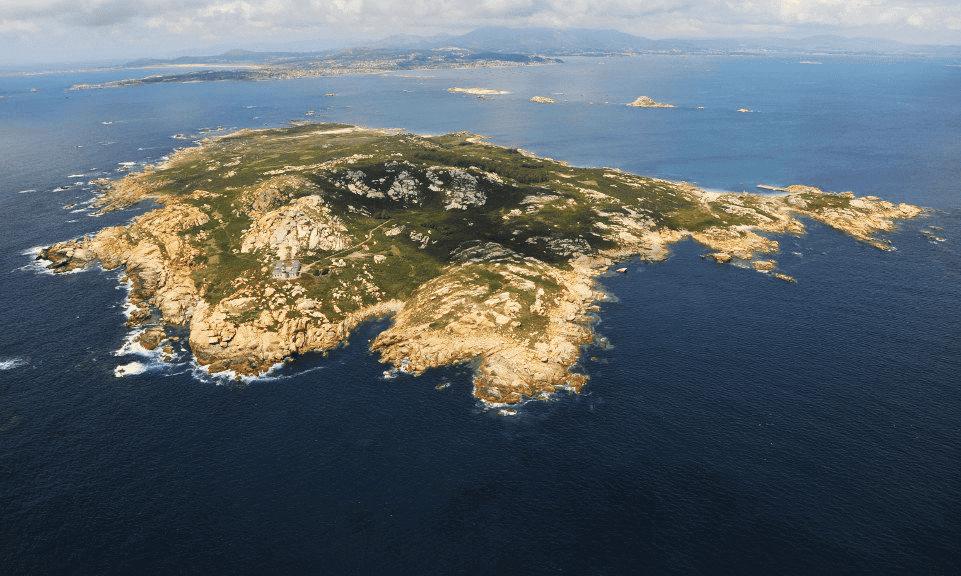 Como llegar a la isla de Sálvora