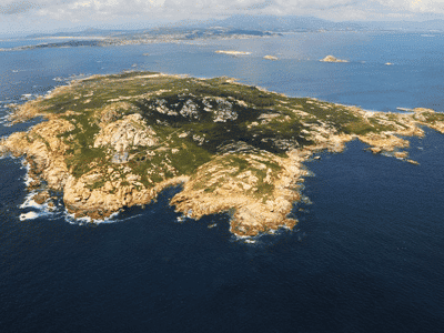 Como visitar la isla de Sálvora