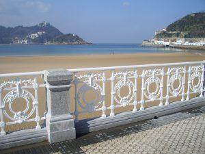 mejores playas: Playa de La Concha, San Sebastián, España.