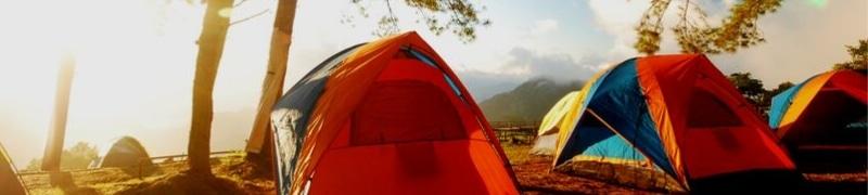 Dormir en el camping de Cíes