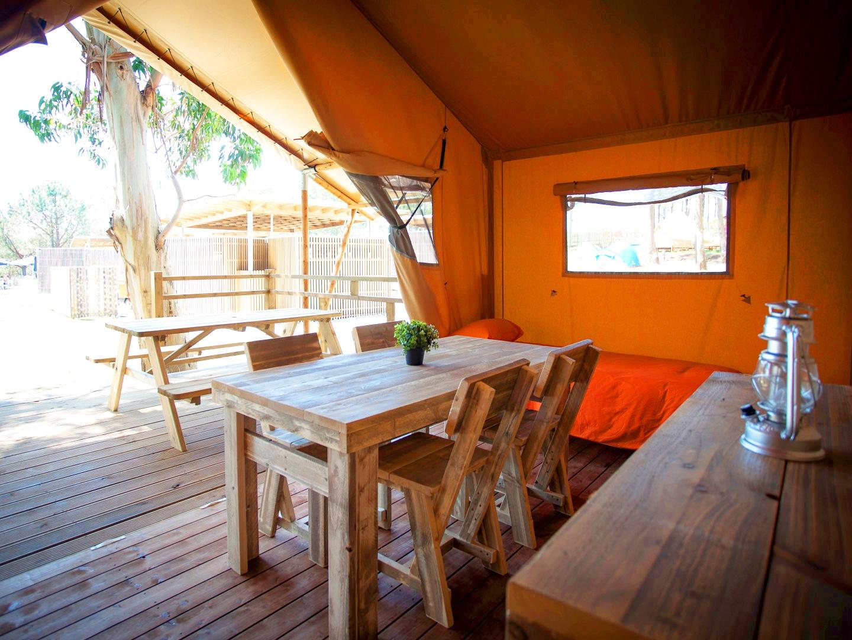 Camping en la Isla de Ons