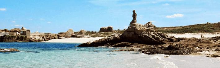 Viajar a la isla de Salvora