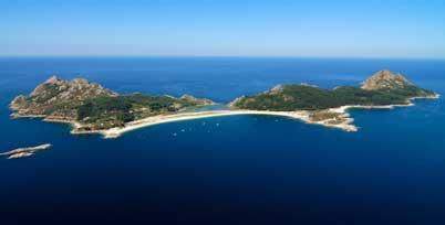 Islas Cíes, playa de Rodas