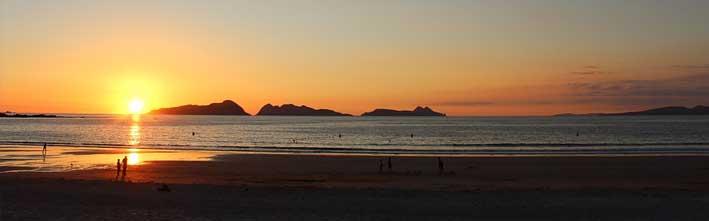 Cómo llegar a la playa de Rodas en Islas Cíes, Galicia