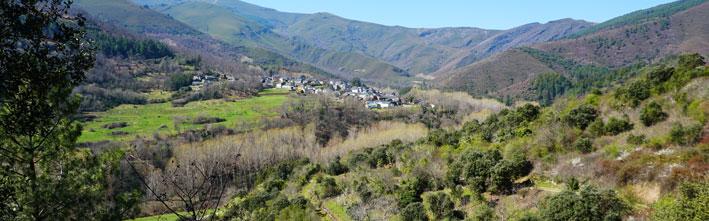 Parque Natural Serra da Enciña da Lastra (Ourense).