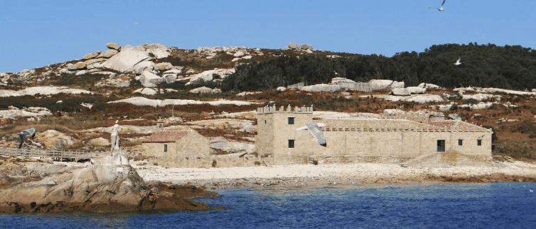 Fábrica de Secado y Salazón de Pescado o Pazo residencial de Sálvora