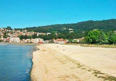 Playa Xunqueira: una de las mejores playas de Moaña.