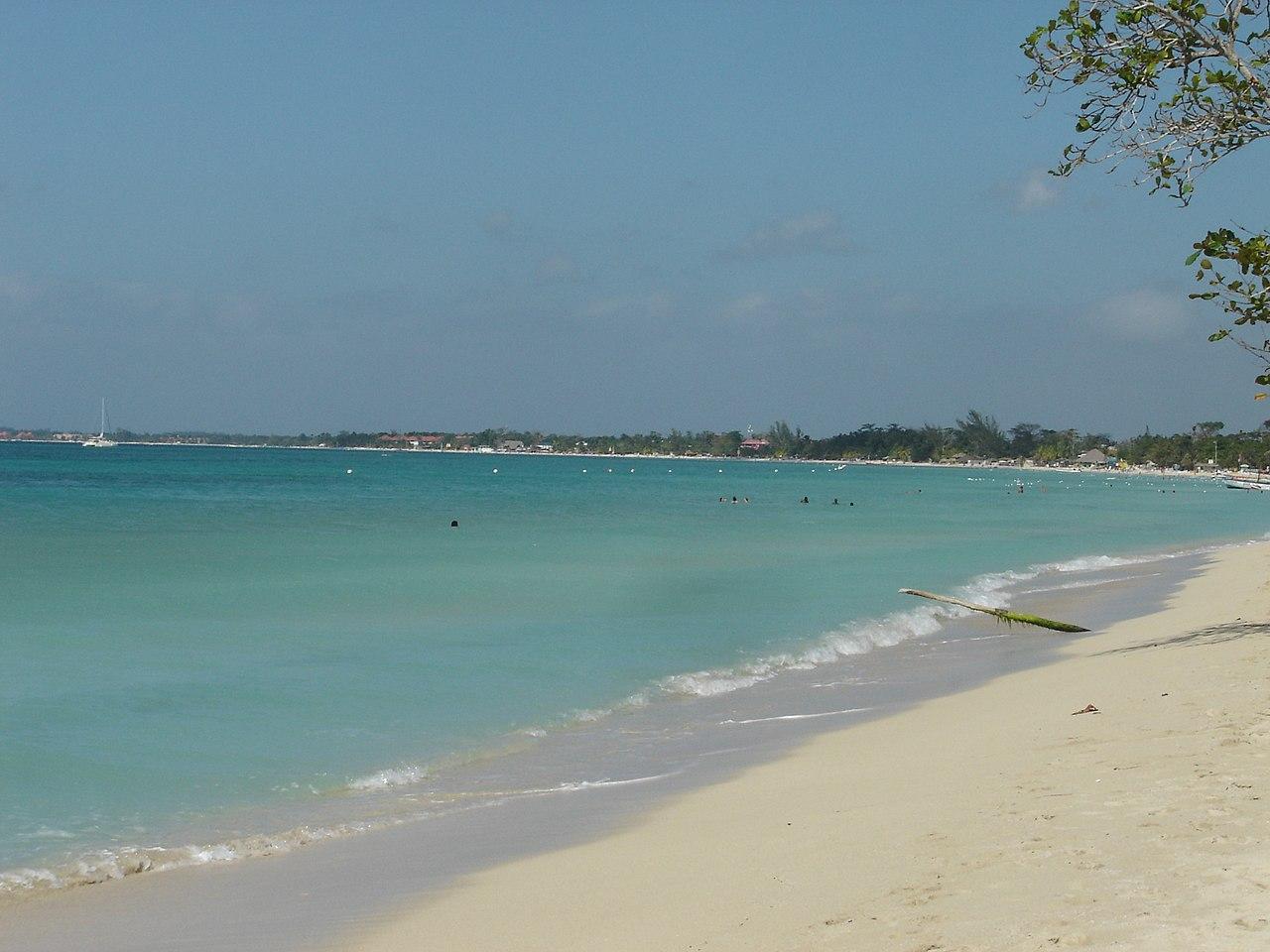 las mejores playas del mundo: Seven Mile Beach, Negril, Jamaica