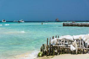 playas bonitas del mundo: Playa Norte, Isla Mujeres, México.