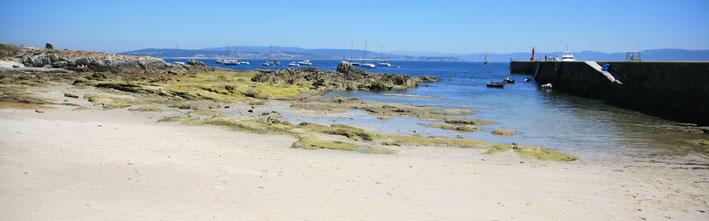 playas que ver en la isla de Ons