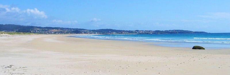Playa de la Lanzada. O Grove (Pontevedra), una de las playas más populares de toda Galicia