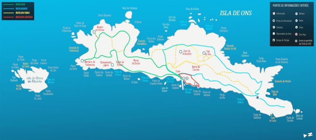 Qué visitar en Ons: Senderismo y rutas