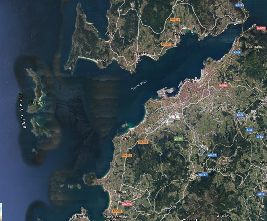 Ría de Vigo, Rías Baixas (Galicia)