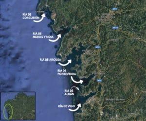 Vacaciones en Rías Baixas, Galicia: Corcubión, Muros y Noia, Arousa, Pontevedra, Aldán y Vigo