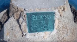 Cartel de la Sirena de Sálvora