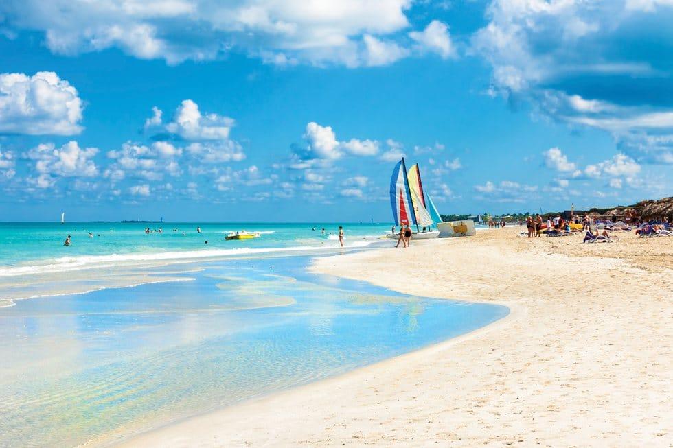 las playas mas bonitas del mundo: Playa Varadero, Cuba.
